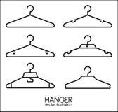 Hanger design. Over white background, vector illustration Royalty Free Stock Image