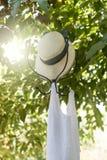 Hanger in the garden Royalty Free Stock Photos