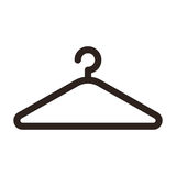 Hanger icon Stock Photo