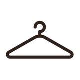 Hanger icon. Isolated on white background Stock Photo