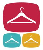 Hanger icon. Vector illustration of the Hanger icon Stock Photos