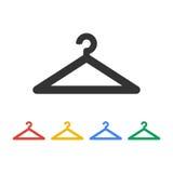 Hanger icons. Flat design style vector illustration