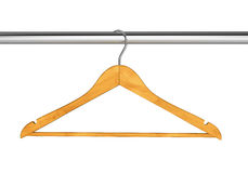 Hanger on rail Royalty Free Stock Images
