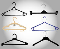 Hanger set Royalty Free Stock Photos