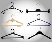 Hanger set Royalty Free Stock Photos