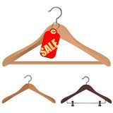 Hanger shopping concept Royalty Free Stock Photos