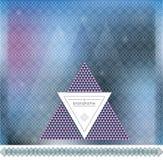 Blur backgound of line geometric hipster vintage design elements Royalty Free Stock Image