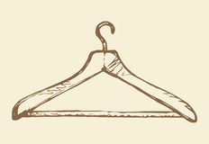 Hanger. Vector drawing Stock Image