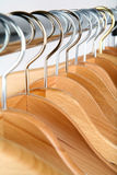 Hangers. Coat hangers Stock Photos