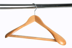 Hangers. Clothes Hanger Royalty Free Stock Photo