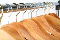 Hangers. Coat hangers royalty free stock photography