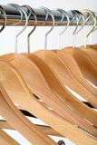 Hangers. Coat hangers Royalty Free Stock Photos