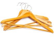 Hangers clothes Stock Photos