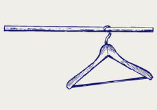 Hangers. Doodle style Royalty Free Stock Photos