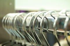 Hangers op Spoor Stock Afbeeldingen