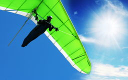 Hangglider Stock Photo
