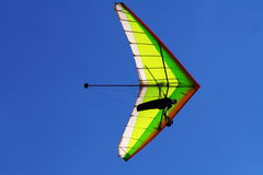 Hangglider in blue Royalty Free Stock Image