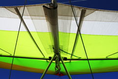 Hangglider close up Stock Photos
