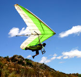 Hangglider launch Stock Photography