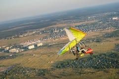 Hangglider piloting Royalty Free Stock Photos