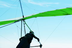 Hanggliding. Hang-glider Royalty Free Stock Images