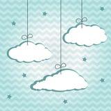 Hangiing chmury Zdjęcie Royalty Free