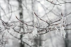 Hangin-Eis Stockfoto