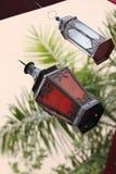 Hanging arabic lamp Royalty Free Stock Photo