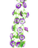 Hanging artificial flowers. Stock Photography