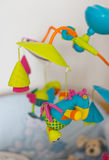 Hanging baby toy Stock Image