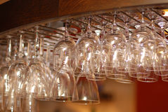 Hanging Bar Glass Royalty Free Stock Photos