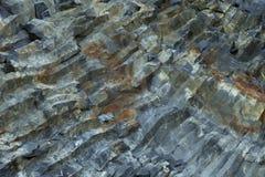 Hanging basalt columns Royalty Free Stock Photo