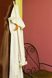 Hanging Bathrobe Royalty Free Stock Photography