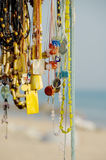 Hanging beads Royalty Free Stock Photography