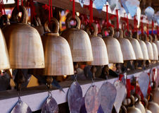 Hanging bell in the temple Royalty Free Stock Image