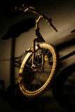 Hanging Bicycle Royalty Free Stock Photography