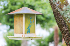 Hanging Bird House Royalty Free Stock Photography