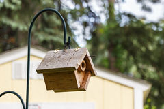 Hanging Birdhouse Royalty Free Stock Photos