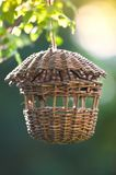 Hanging birdtable Stock Photography