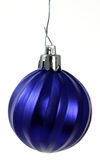 Hanging Blue Christmas Ornament Stock Photos