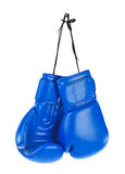 Hanging boxing gloves Royalty Free Stock Photography