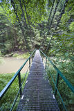Hanging bridge Stock Photos