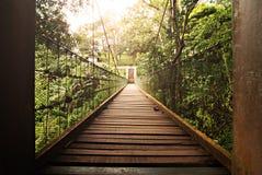 Hanging Bridge Royalty Free Stock Photography