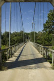 Hanging bridge Royalty Free Stock Images