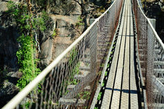 Hanging bridge Royalty Free Stock Photography