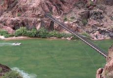 Hanging bridge Royalty Free Stock Photo