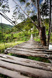 Hanging Bridge Stock Image