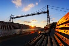 Hanging bridge of vizcaya Stock Photos