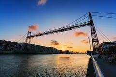 Hanging bridge of vizcaya Royalty Free Stock Image
