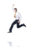 Hanging businessman Royalty Free Stock Photography